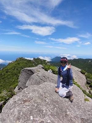 絶景!黒味岳。 ツアーの様子 2013年7月19日
