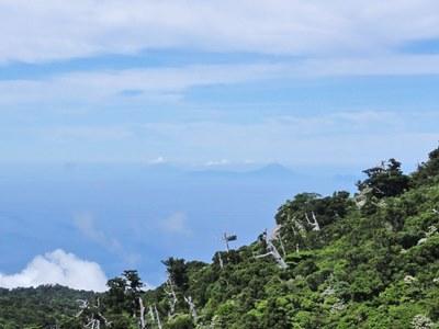 黒味岳から中之島20130719k