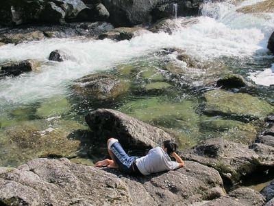 20111007t河原で休憩