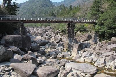 屋久島トロッコ 小杉谷橋