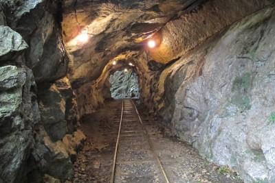屋久島トロッコ トンネル