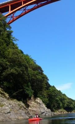 白谷&カヤック「安房川」