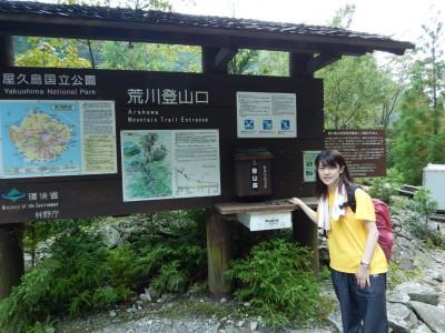 縄文杉から帰ってきました!お疲れさまでした。