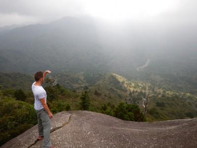 太鼓岩からの眺めは最高です。
