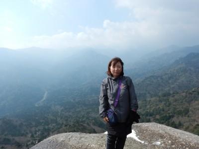 白谷雲水峡ツアー太鼓岩からの眺め