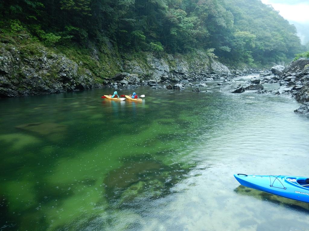 清流安房川です。