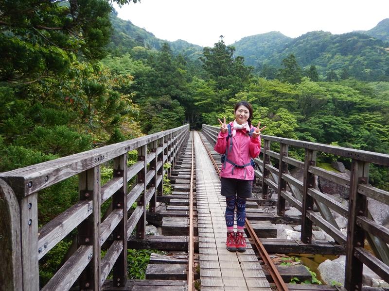 小杉谷橋 橋からの景色も最高です