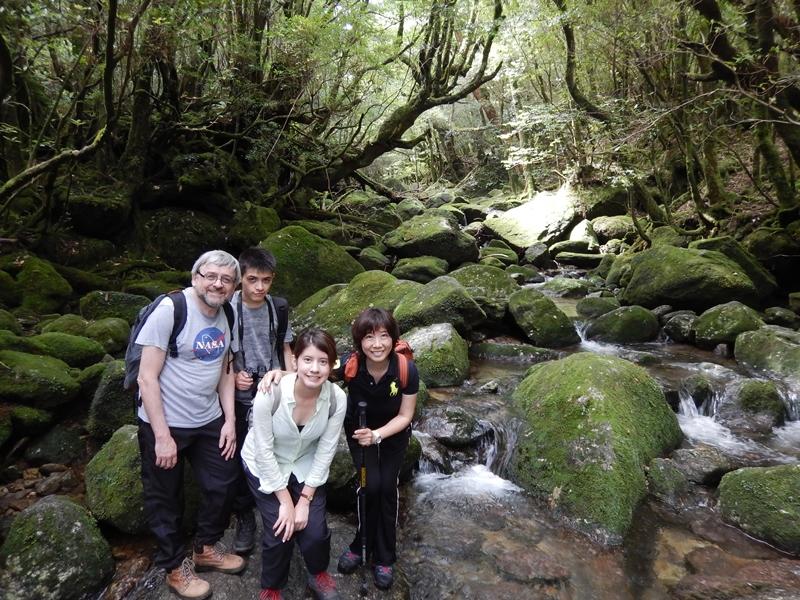 家族貸切 白谷雲水峡ツアー