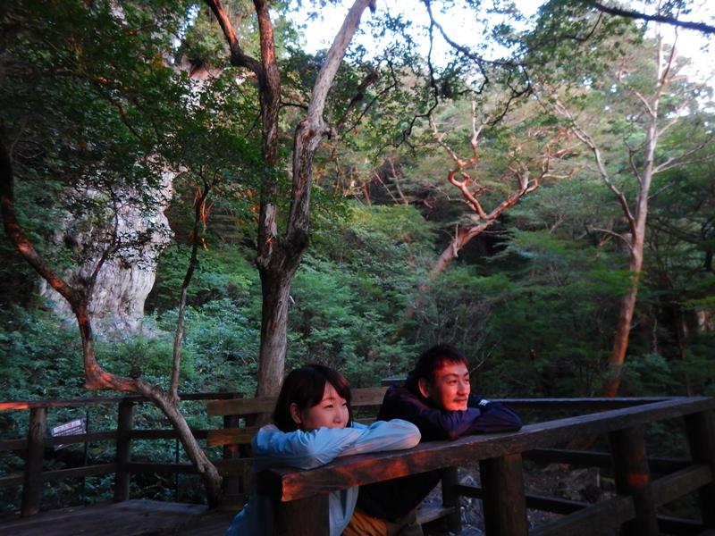 次の日、早起きして縄文杉デッキで日の出を楽しみました^^
