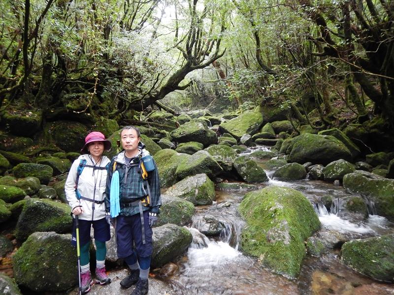 9月17日 白谷雲水峡ツアー 前日の縄文杉から続けてご参加いただきました。