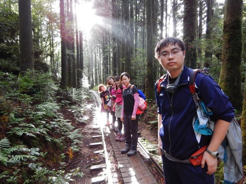 9月18日 縄文杉ツアー 台風接近でツアーも危ぶまれましたが台風のスピードが遅くなり、しかもいいお天気に!