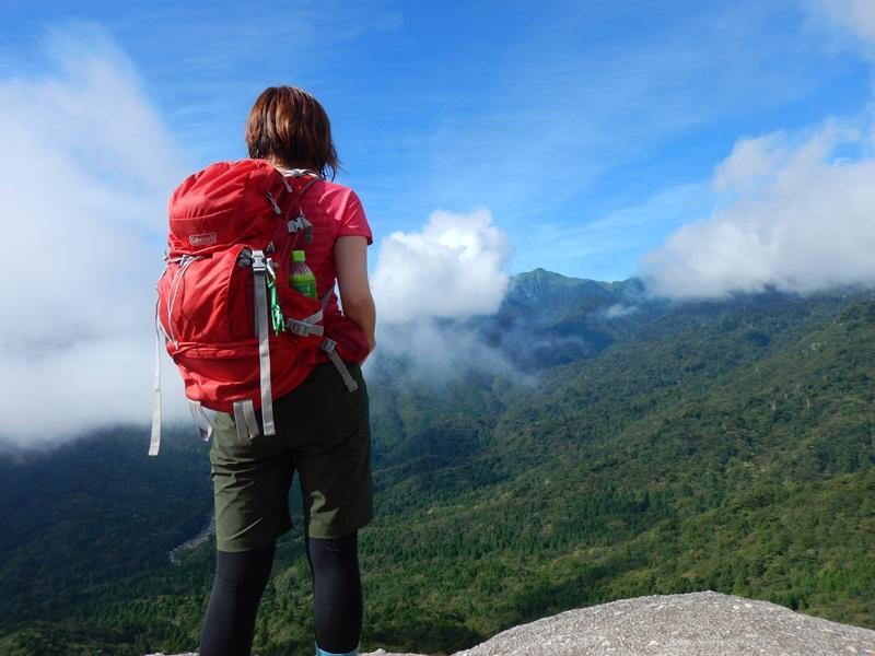 9月30日 白谷雲水峡 太鼓岩
