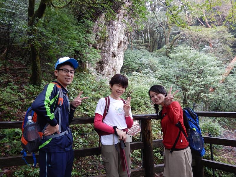 20161101縄文杉ツアー