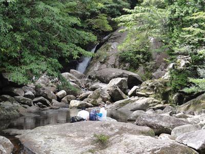 山と川どっちも楽しんで! ツアーの様子 2013年8月4日
