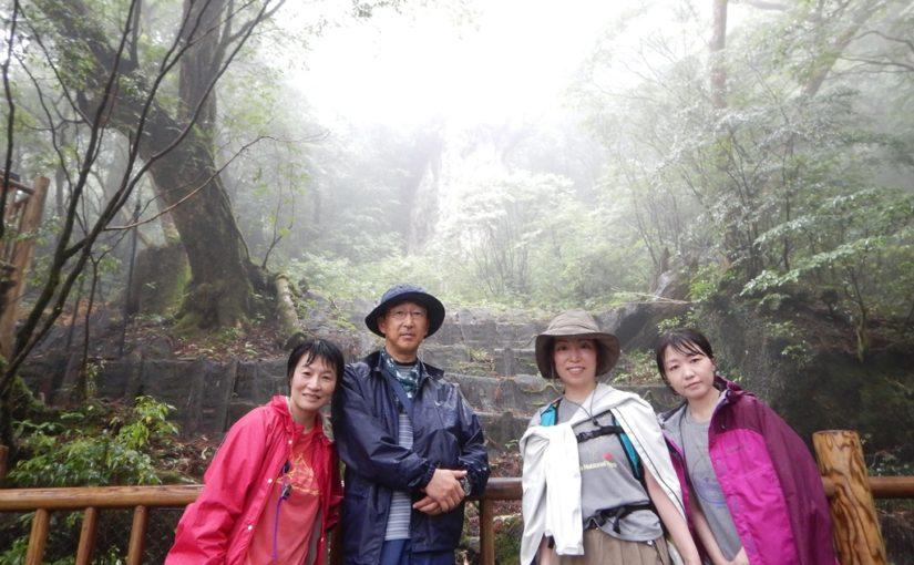 縄文杉とカヤックツアー